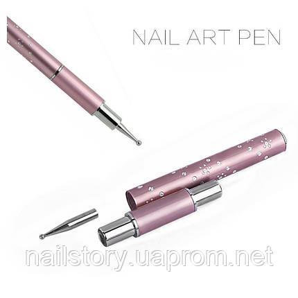 Дотс с перьевой ручкой, фото 2