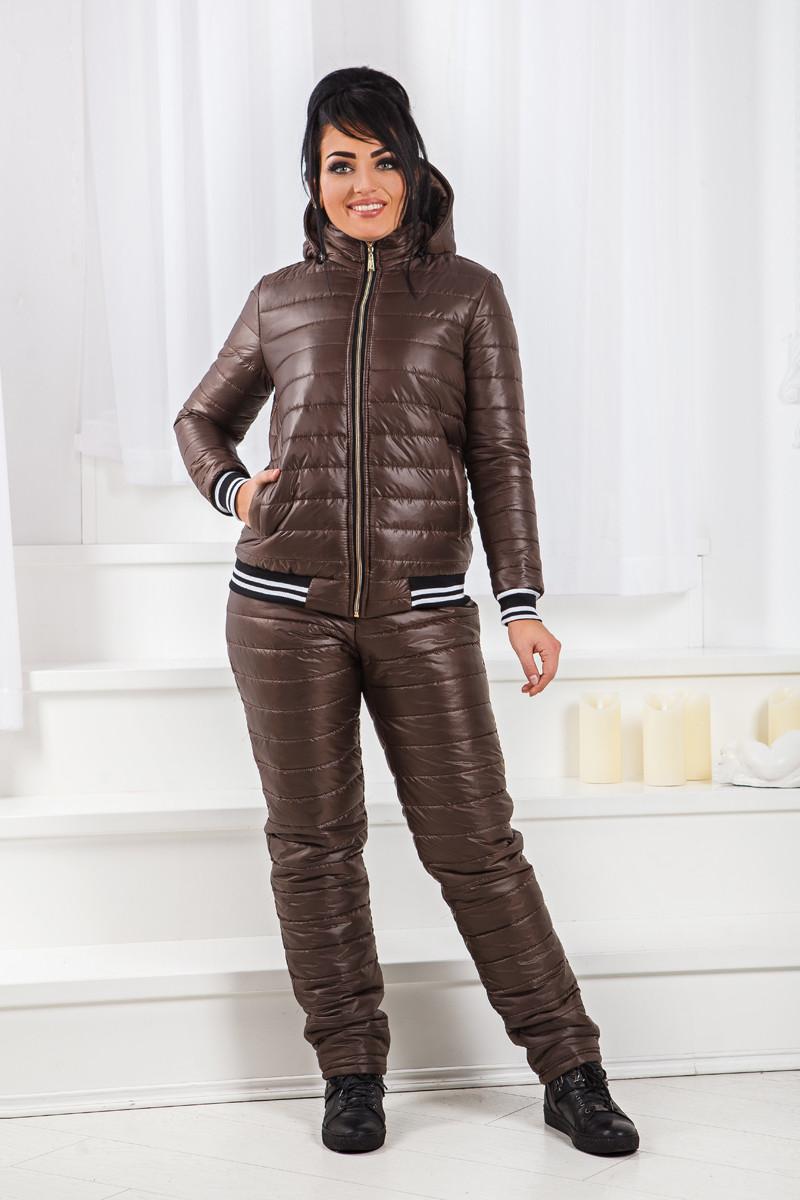 ДТ1195 Теплый костюм на синтепоне размеры 50-56
