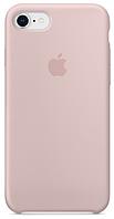 Чехол Apple Silicone Case Pink Sand для iPhone 7 Plus / 8 Plus