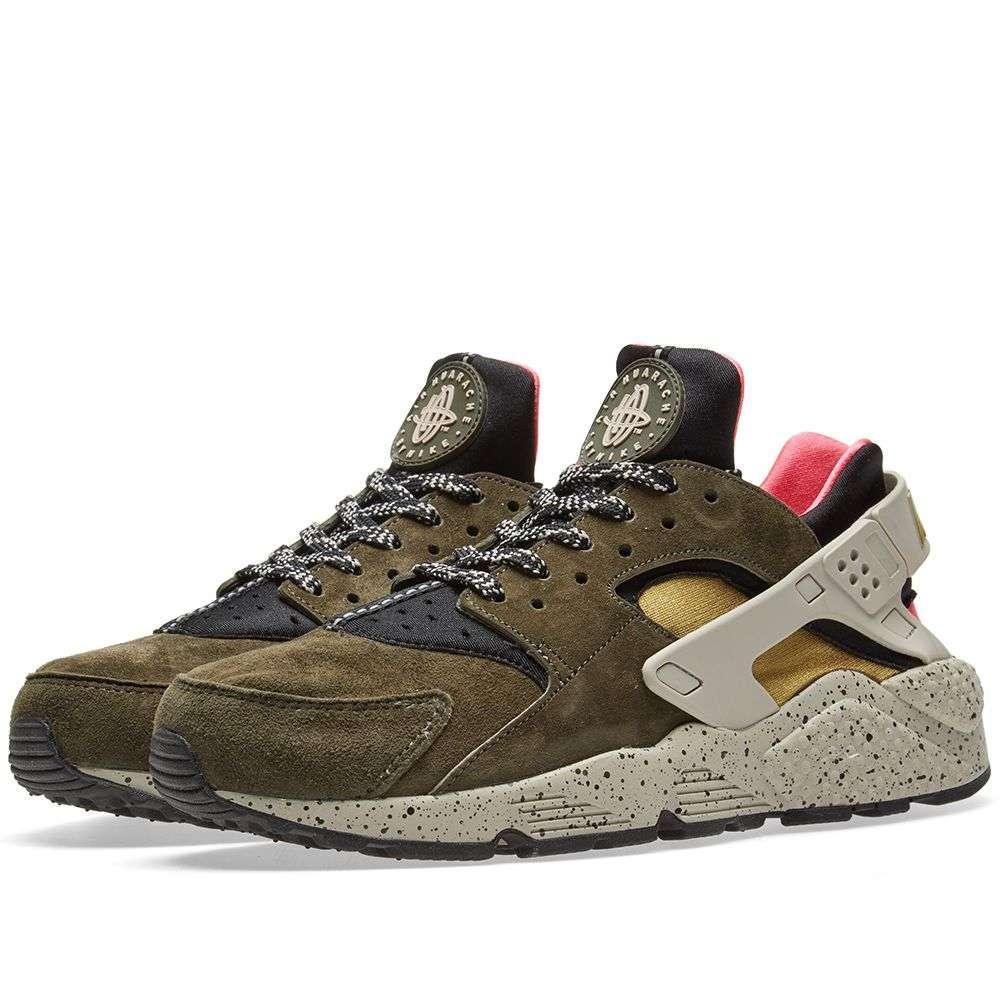95f78d372575 Оригинальные кроссовки Nike Air Huarache Run Premium Black   Desert ...