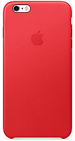 Чехол Apple Leather Case Red для iPhone 6 Plus / 6S Plus
