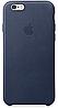 Чехол Apple Leather Case Midnight Blue для iPhone 7 / 8