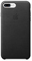 Чехол Apple Leather Case Black для iPhone 7 Plus / 8 Plus