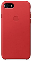 Чехол Apple Leather Case (PRODUCT) RED для iPhone 7 / 8