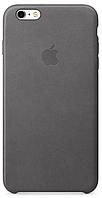 Чехол Apple Leather Case Storm Gray для iPhone 6 Plus / 6S Plus