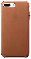 Чехол Apple Leather Case Brown для iPhone 7 Plus / 8 Plus