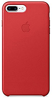 Чехол Apple Leather Case Red для iPhone 7 Plus / 8 Plus