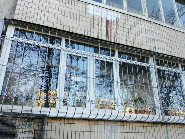 Решётки на окна объемные «Луковица»