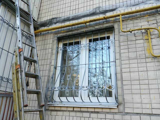 Решётки на окна объемные «Луковица» 2