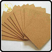 Пробковый лист мелкозернистый 940х635 мм, толщина 2мм, фото 1