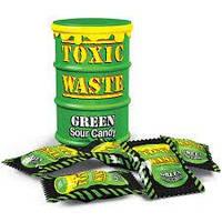 Toxic Waste Зелёный - самые кислые конфеты, Лимитированный выпуск, Новинка