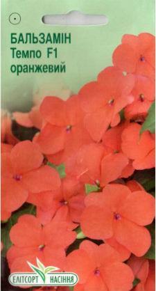 Семена Бальзамина Темпо F1 оранжевая 5 шт.