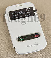 Dilux - Чехол - книжка Samsung Galaxy Grand Duos I9082  S View Cover  белый , фото 1