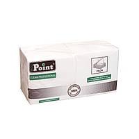 Салфетка 2сл 24см белая Eco Point, фото 1