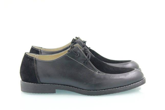 Кожаные туфли со шнуровкой, фото 2
