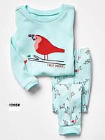 """Пижама для девочек """"Птичка""""  110"""