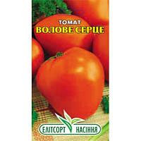 Семена томата Воловье сердце оранжевое 0,1 г