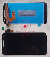 Motorola MOTO G4 XT1622 XT1625  дисплей в зборі з тачскріном модуль чорний