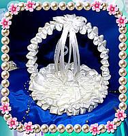 "Подушечки для свадебных колец, подставка для колец ""Серпантин"""