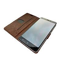 Чехол-книжка для Xiaomi redmi note 3 (Крепление: клейкая поверхность)