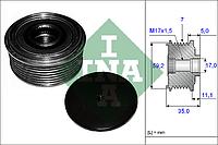 Механизм свободного хода генератора FORD (производитель Ina) 535 0087 10