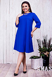 Стильное женское платье (46-60) 8203