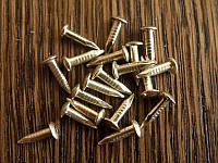 Гвозди золото 6мм 100грамм