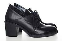 Кожаные туфли на шнурках  60553 60553