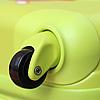 Чемодан Ультра Прочный Средний салатовый Ambassador 8503, фото 5