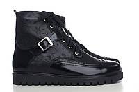 Демисезонные лаковые ботинки 0515-16