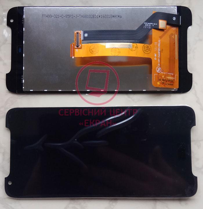 Дисплей модуль HTC Desire 628 в зборі з тачскріном, чорний