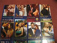 Книга НА АНГЛИЙСКОМ ЯЗЫКЕ любовный роман набор =8 штуки из британии CAROL MARINELLI