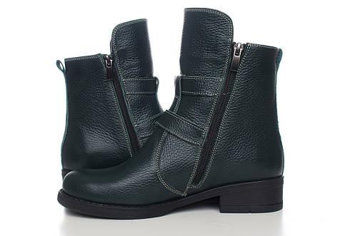 Зеленые ботинки на меху от производителя купить оптом, фото 2
