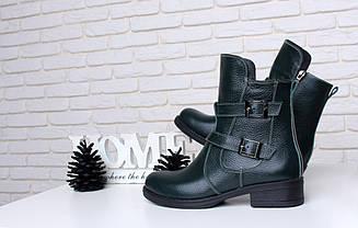 Зеленые ботинки на меху от производителя купить оптом, фото 3