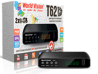 Ресивер World Vision T62D Dolby Digital DVB-T2
