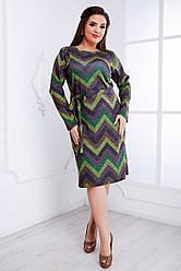 Женское ангоровое Платье (46-64) 8202