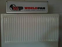 Стальной Радиатор отопления (батарея) 500x1000 тип 22 WorldPan (боковое подключение), фото 2