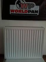 Стальной Радиатор отопления (батарея) 500x1000 тип 22 WorldPan (боковое подключение), фото 3