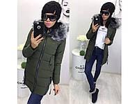 Женская  зимняя  куртка Аляска  №772