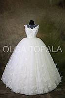 Свадебное платье пышное 7044