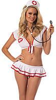 Женский  Эротический комплект медсестры   р.S-M,  и М-L