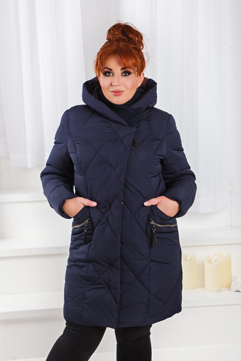 Д01 Куртка зимняя размеры 48-58