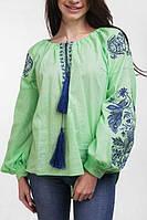Вышивка рубашка женская Жар Птица