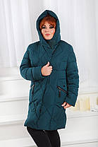 Д01 Куртка зимняя размеры 48-58, фото 2