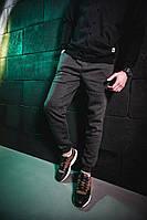 Зимние мужские штаны черные Pobedov Pride Trousers Grey