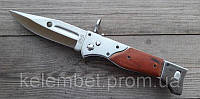 Классический складной армейский автоматический нож АК-47 большой. Нож для охоты и рыбалки