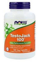 Спецпрепарат (пищевая добавка) Now TestoJack 100 (120 капсул)