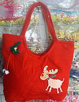 Новогодняя сумка для подарков