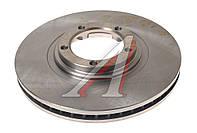 Диск тормозной передний HYUNDAI STAREX (производитель VALEO PHC) R1018, фото 1