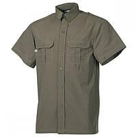 Рубашка MFH короткий рукав олива